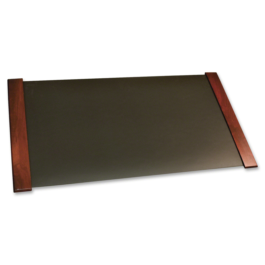 modern desk pad cvr02043 carver wood contemporary wood desk pad great office buys j r