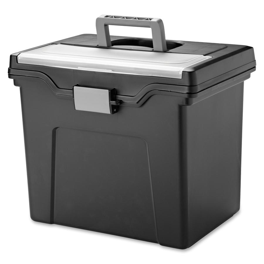 Iris Portable Letter-size File Box - Kopy Kat Office