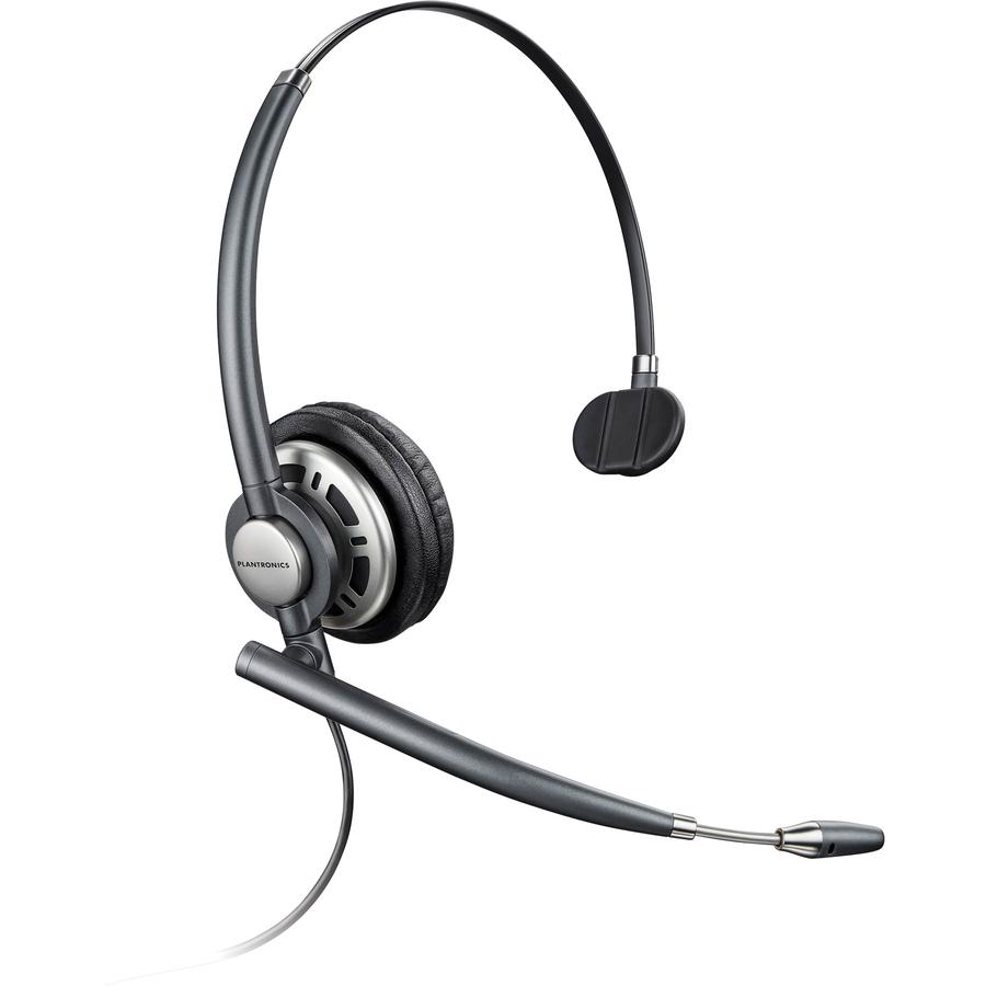 Plantronics EncorePro HW710 Wired Mono Headset - Mac Papers Inc
