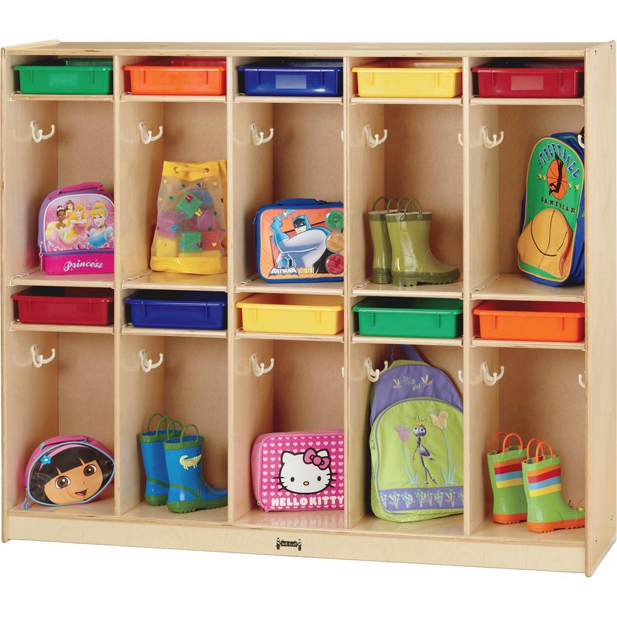 jonti craft 10 locker organizer take home center. Black Bedroom Furniture Sets. Home Design Ideas
