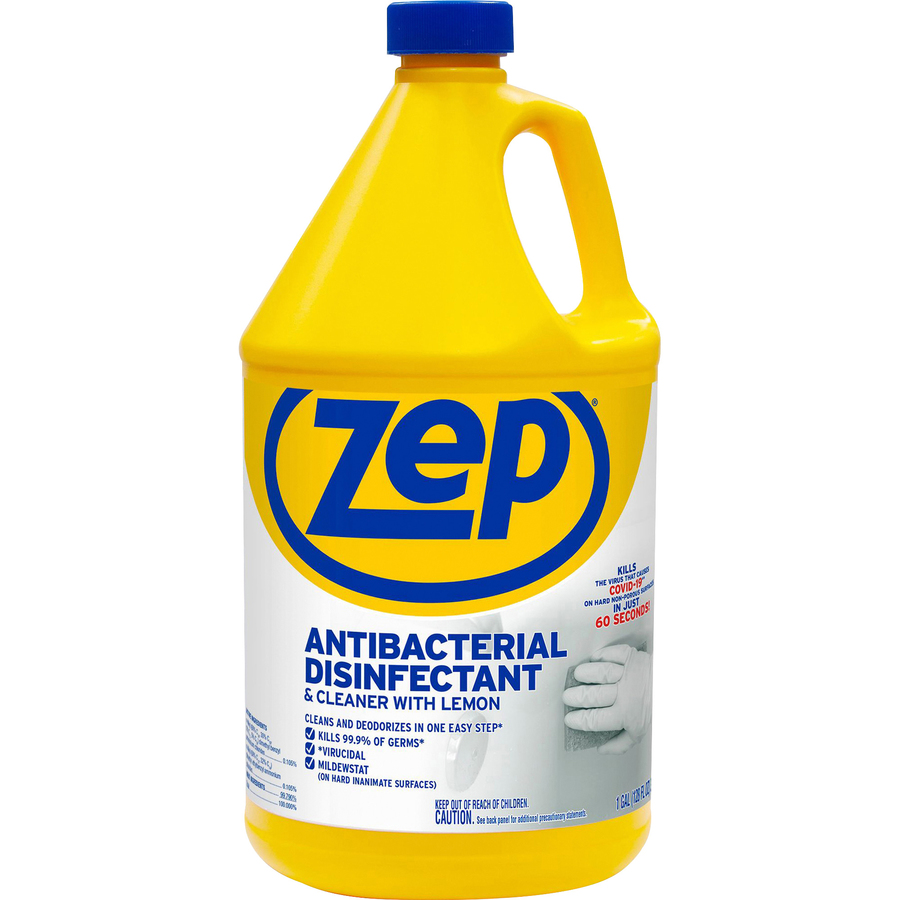 Zep Commercial Antibacterial Disinfectant and Cleaner Liquid Solution  #C0A30B