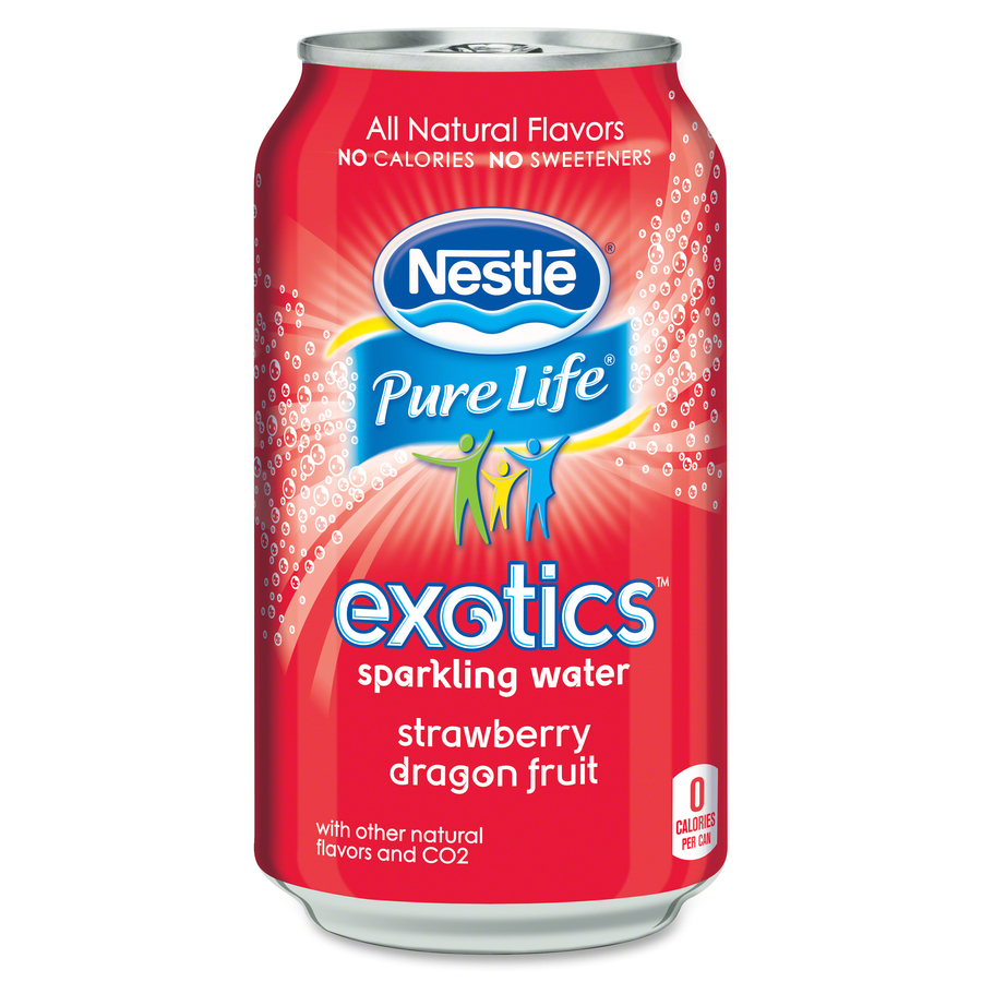 ... 12252792 Pure Life Exotics Dragon Fruit Sparkling Water Flavored Water
