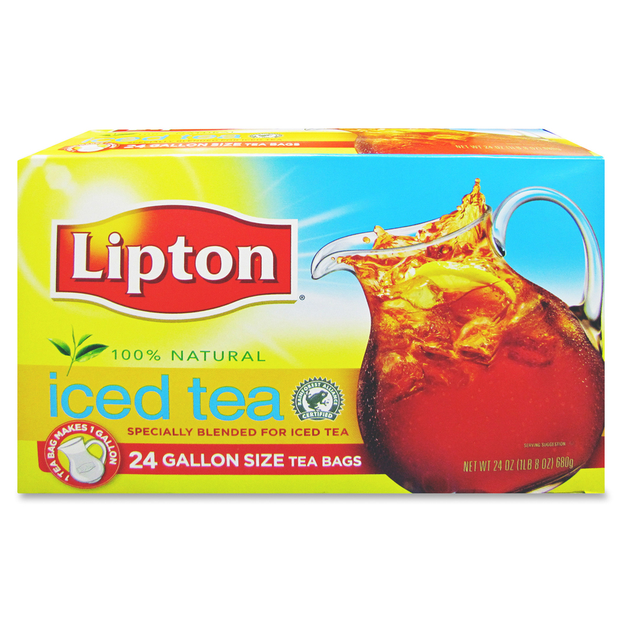 lipton unilever unsweetened smooth blend tea mac papers inc