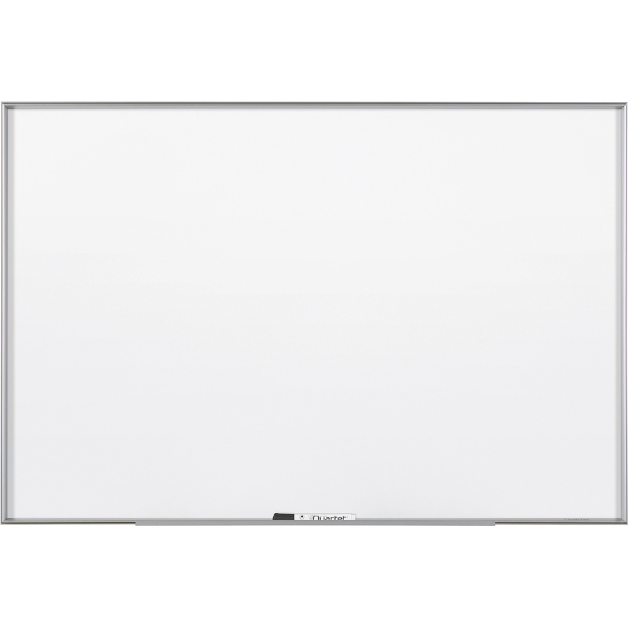 Acco Brands Corporation Quartet® Fusion Nano-clean Magnetic Whiteboard - 48 (4 Ft) Width X 36 (3 Ft) Height - White Surface - Silver Aluminum Frame - Horizontal/vertical - 1 Each