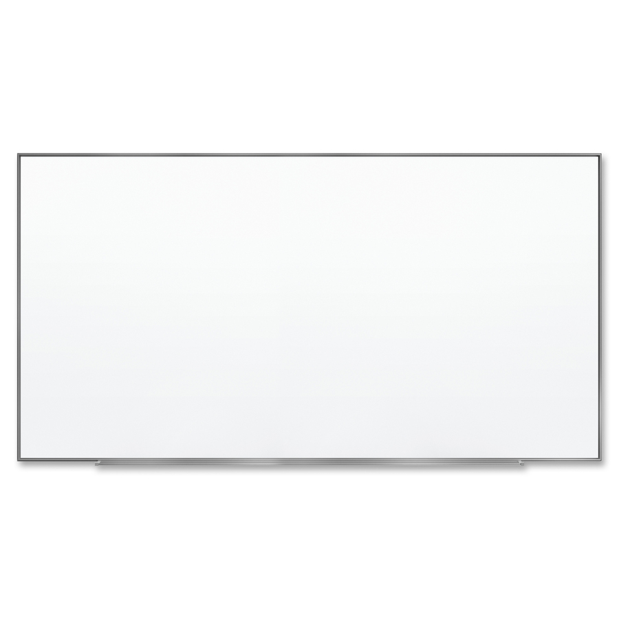 Acco Brands Corporation Quartet® Fusion Nano-clean Magnetic Whiteboard - 96 (8 Ft) Width X 48 (4 Ft) Height - White Surface - Silver Aluminum Frame - Horizontal/vertical - 1 Each