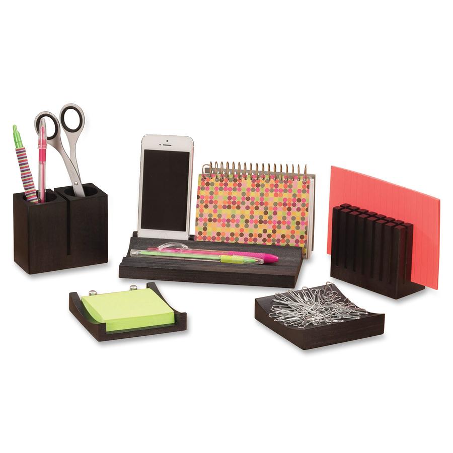 Discount saf3282bl safco 3282bl safco wood desk organizer - Cheap desk organizer ...