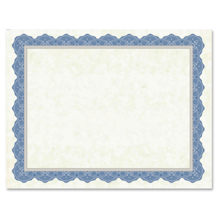 geographics drama blue border blank certificates servmart free clipart for binder covers free clipart for borders and page separators
