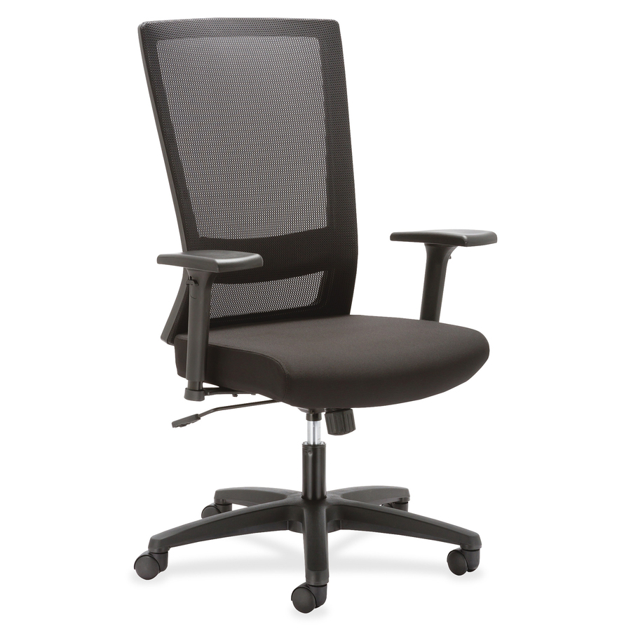 Llr54853 lorell mesh high back swivel chair office for Swivel chairs for office