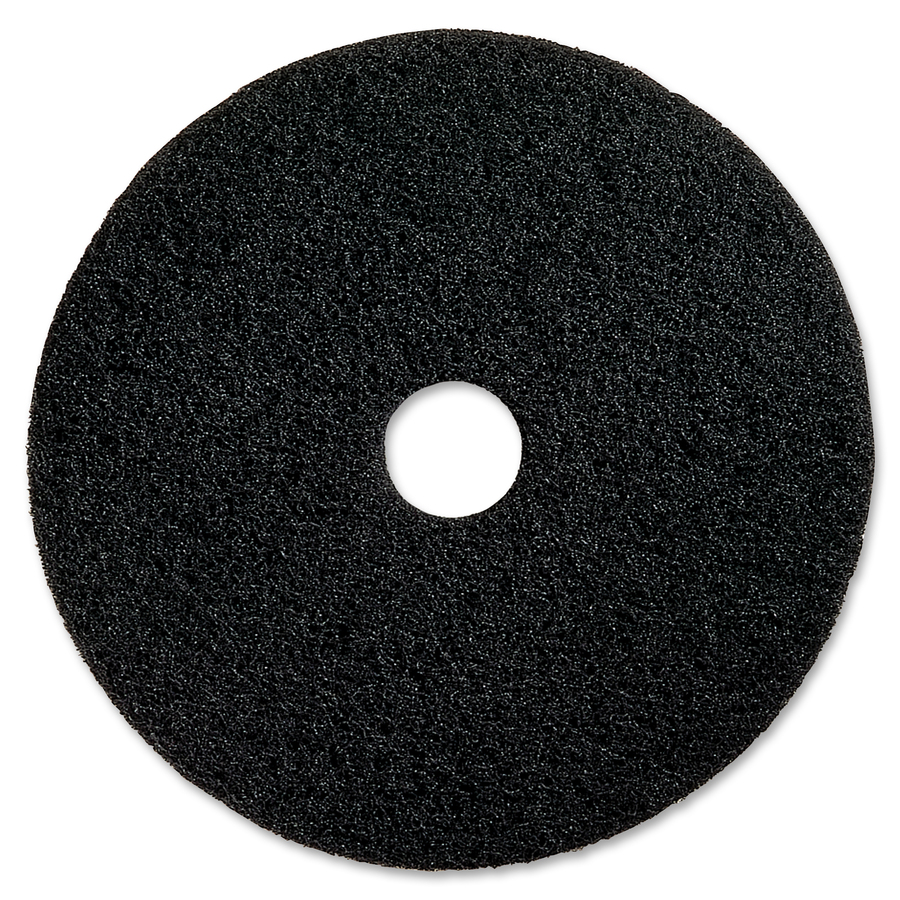 Genuine Joe Black Floor Stripping Pad RampR Office Solutions