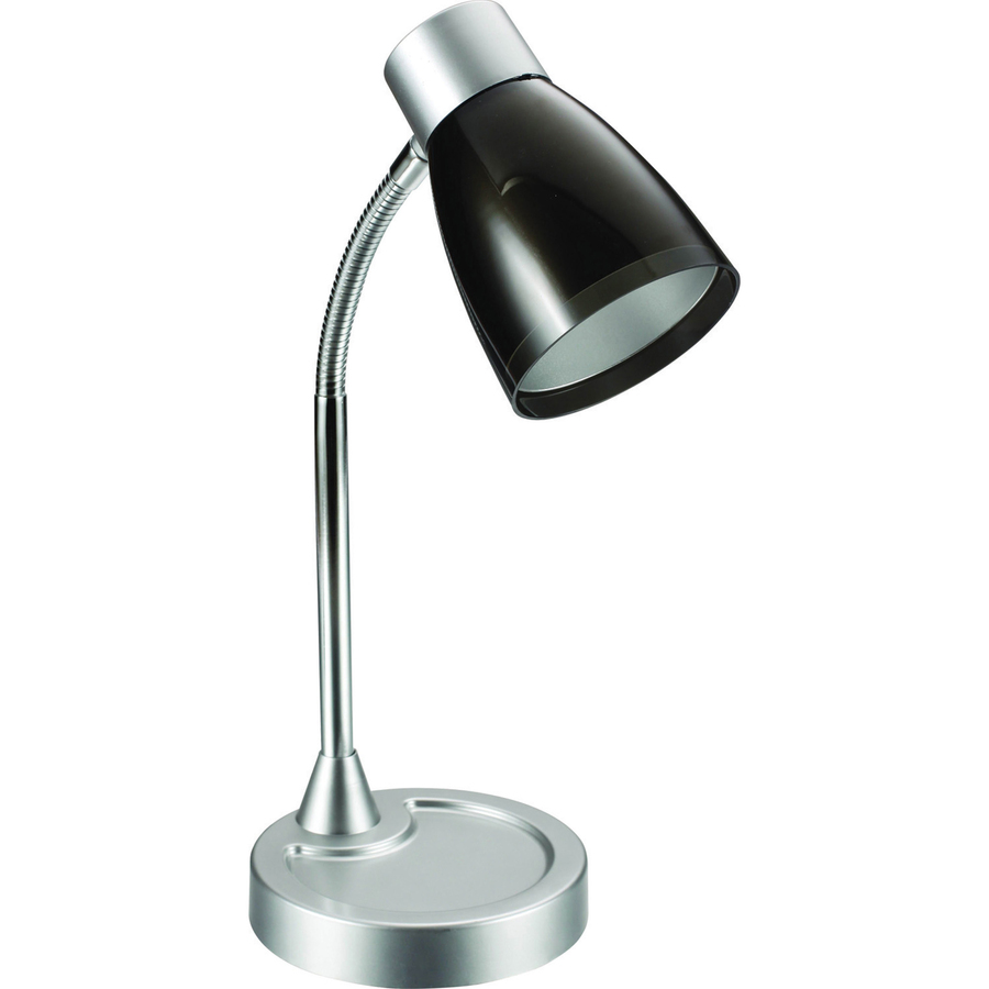 usb silver with port charging desk standing lamp led