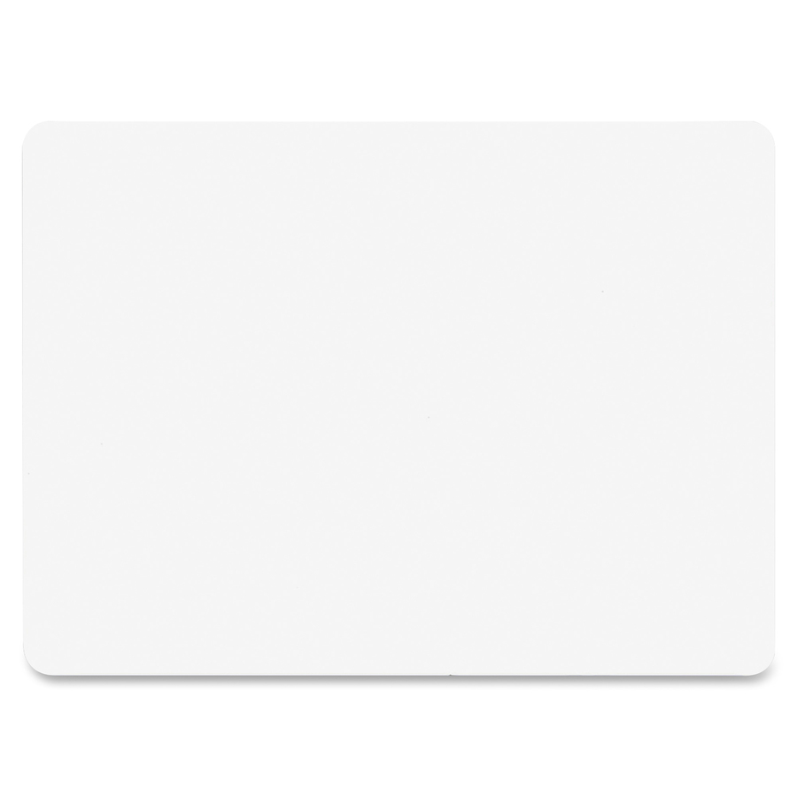 Flipside Products, Inc Flipside Unframed Mini Dry Erase Board - 5 (0.4 Ft) Width X 7 (0.6 Ft) Height - White Surface - Rectangle - 1 Each