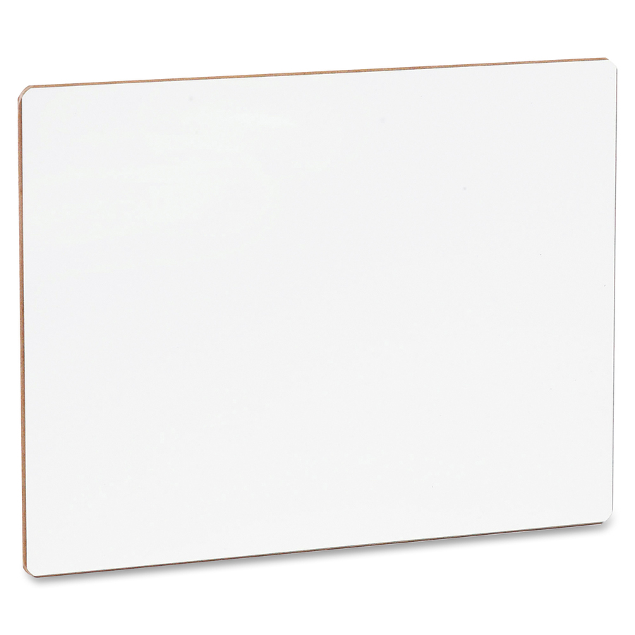 Flipside Products, Inc Flipside Unframed Dry Erase Lap Board - 9 (0.8 Ft) Width X 12 (1 Ft) Height - White Surface - Rectangle - 1 Each
