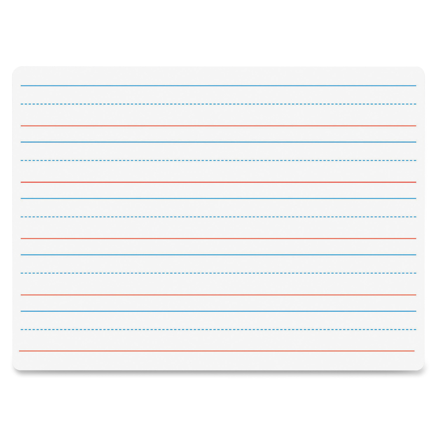 Flipside Products, Inc Flipside Double-sided Dry Erase Board - 9 (0.8 Ft) Width X 12 (1 Ft) Height - White Surface - Rectangle - 1 Each