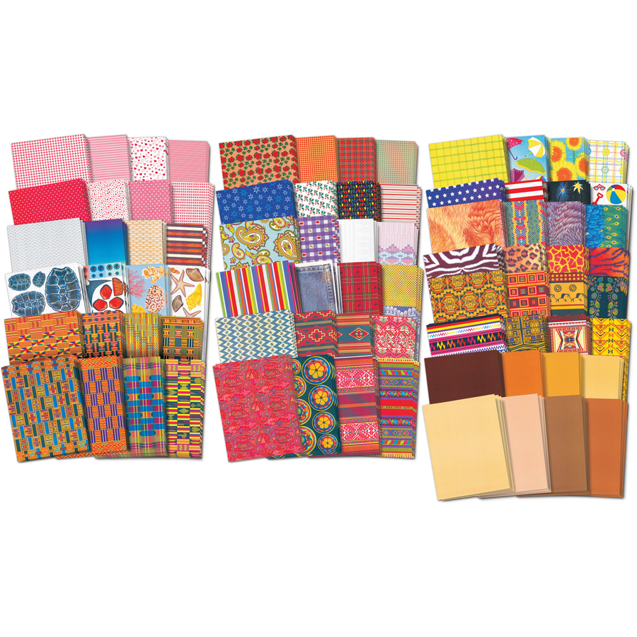 Roylco, Inc Roylco Patterned Paper Classpack - 8.5 X 11 - 248 / Pack - Assorted