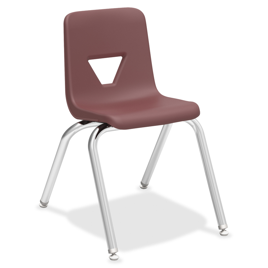 """Lorell 16"""" Seat height Stacking Student Chair Tierney fice"""