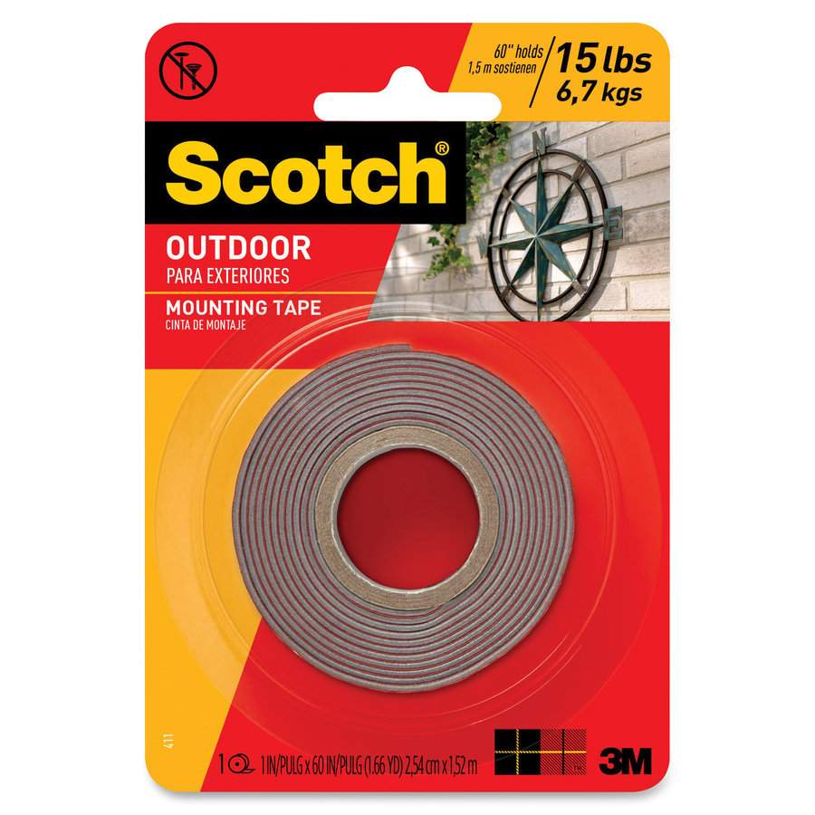 Mmm411p Scotch Outdoor Mounting Tape Office Supply Hut