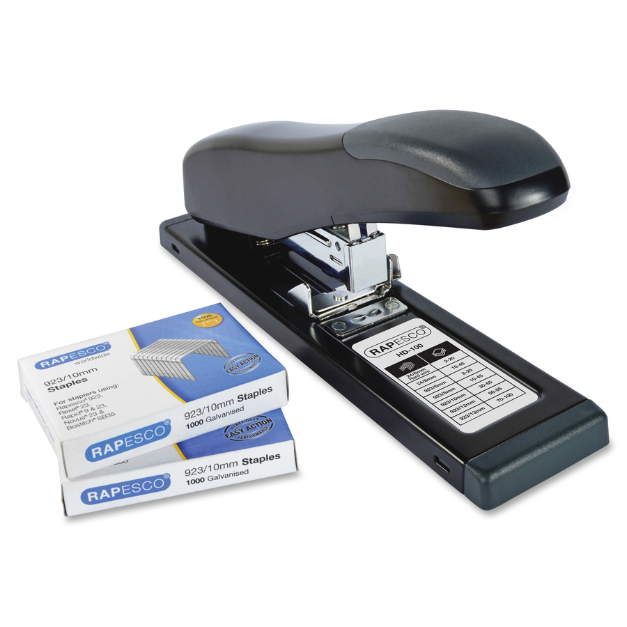 Rapesco HD-100 Stapler and 923/10mm Staple Set - Tierney Office Products