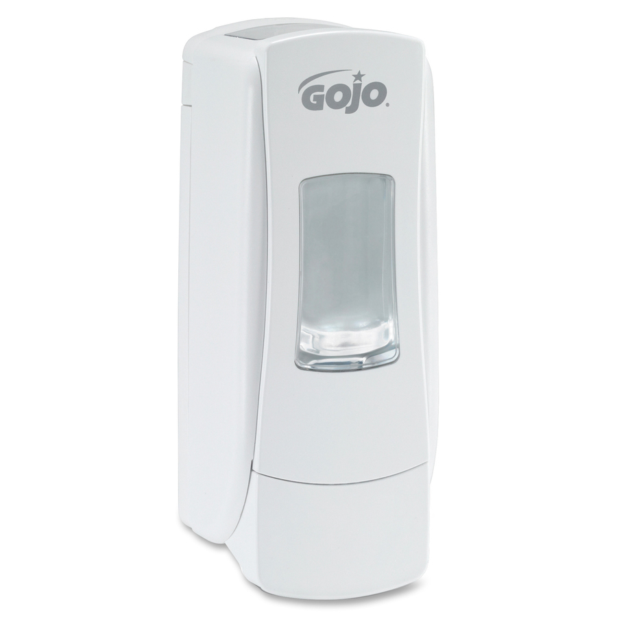 Soap Dispenser Key ~ Gojo white adx manual foam soap dispenser servmart