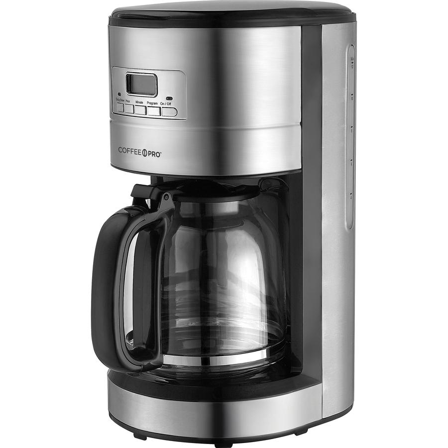 Coffee Pro 10-12 Cup Stainless Steel Brewer - SupplyGeeks.com