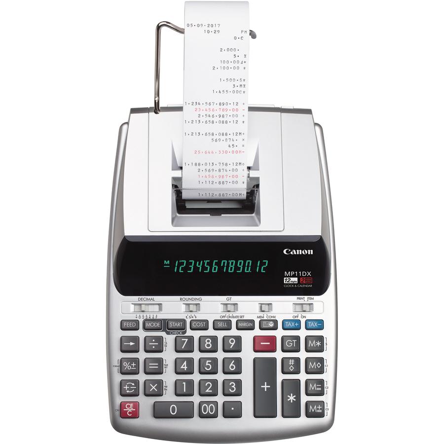 Canon Mp11dx 2 Color Printing Calculator Servmart