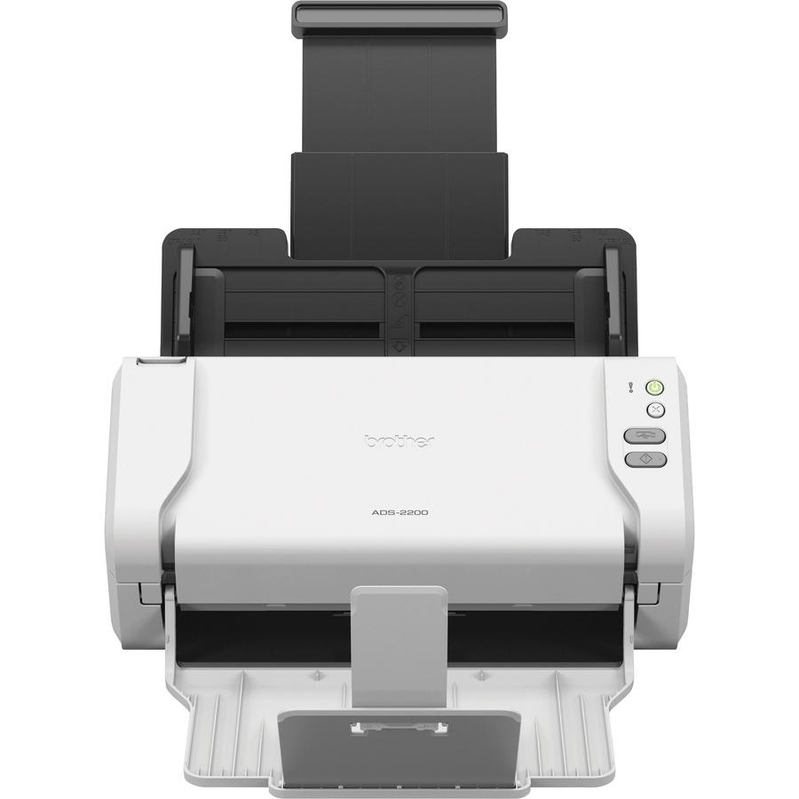 Image for Brother Industries, Ltd Brother Ads-2200 High-speed Color Duplex Desktop Document Scanner With Touchscreen Lcd - 48-bit Color - 8-bit Grayscale - 35 Ppm (Mono) - 35 Ppm (Color) - Pc Free Scanning - Duplex Scanning - USB