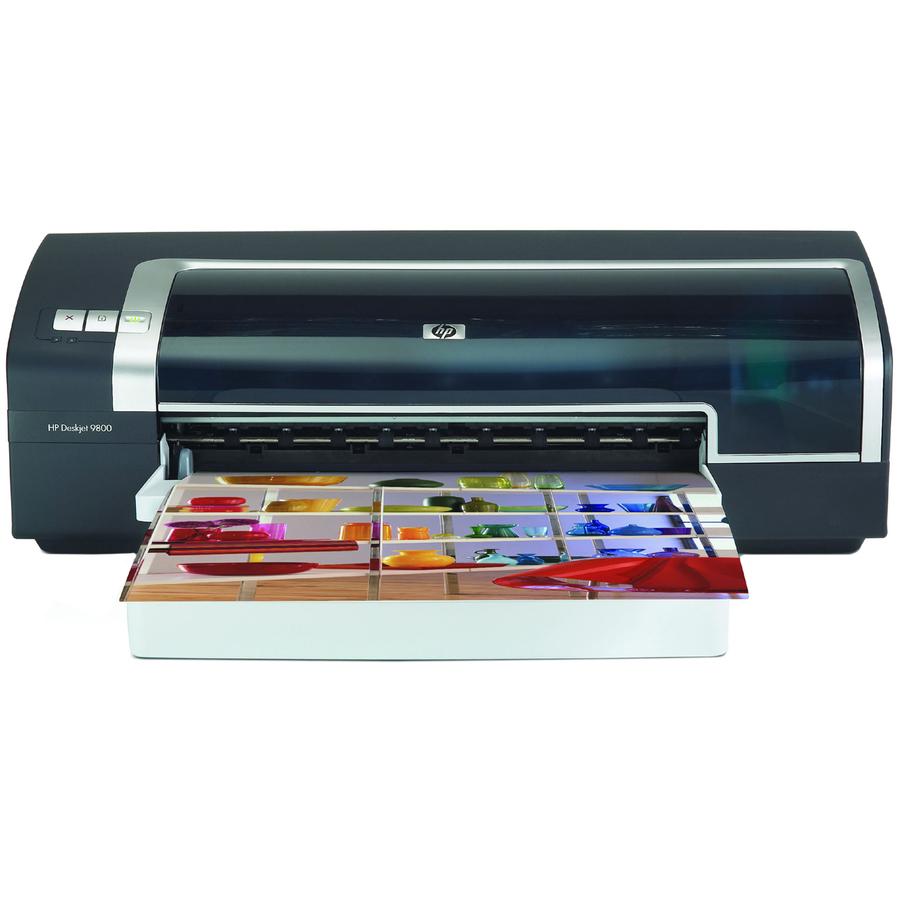 hp deskjet 9800 inkjet printer color 4800 x 1200 dpi print