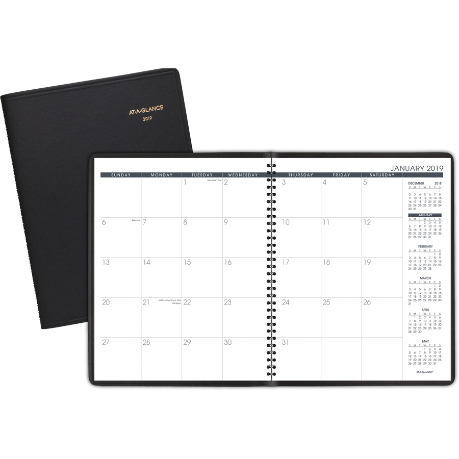 at a glance monthly planner officemart com