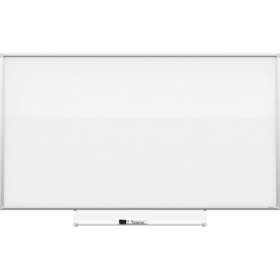 Acco Brands Corporation Quartet Silhouette 74X42 Total Erase Board - 42 (3.5 Ft) Width X 74 (6.2 Ft) Height - White Melamine Surface - Rectangle - Assembly Required - 1 Each