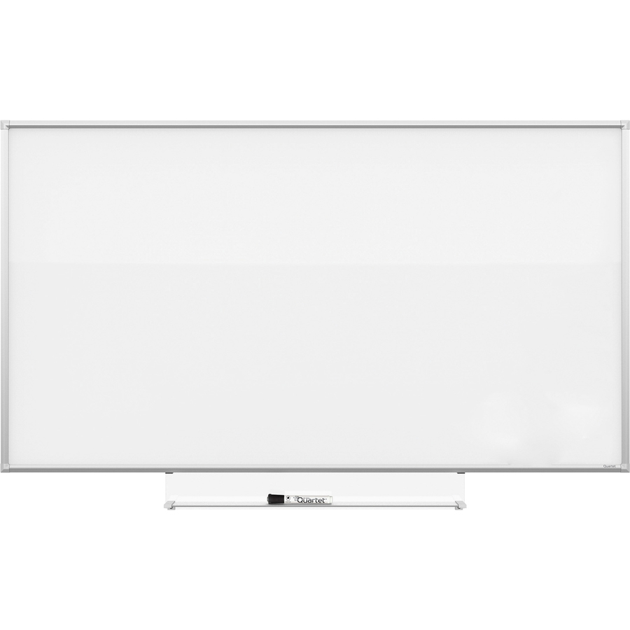 Acco Brands Corporation Quartet Silhouette 85X48 Total Erase Board - 48 (4 Ft) Width X 85 (7.1 Ft) Height - White Melamine Surface - Rectangle - Assembly Required - 1 Each