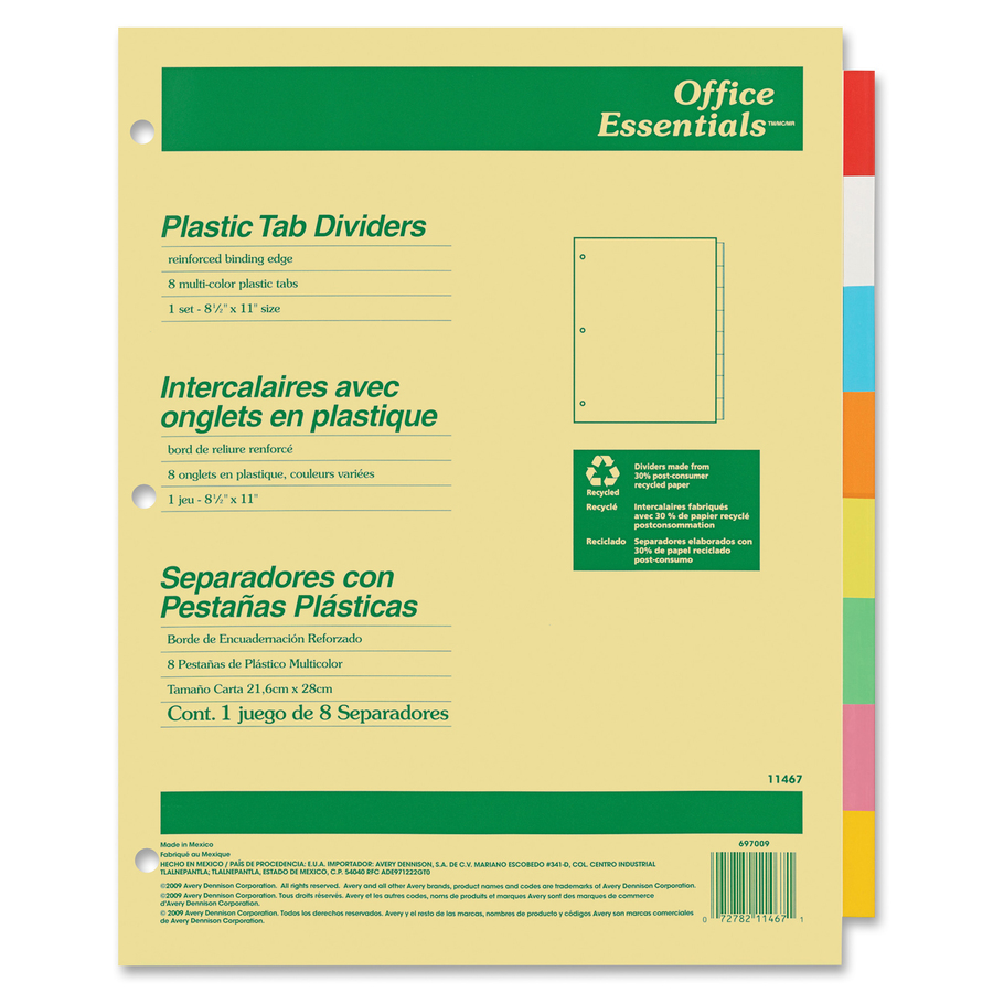 avery 10 tab color template - Vatoz.atozdevelopment.co