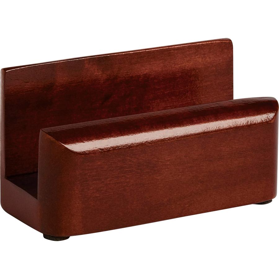 Rolodex Wood Tone Business Card Holders - Servmart