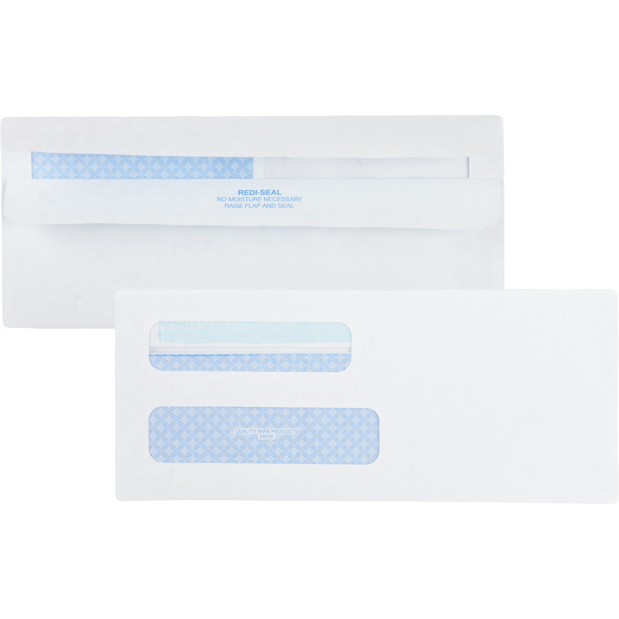 Quality park redi seal 2 window envelopes for Window envelopes