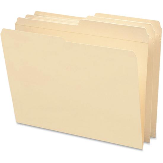 Smead File Folders, Reinforced 1/2-Cut Tab, Letter Size, Manila, 100 Per Box (10326)