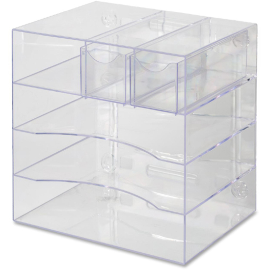 Rubbermaid 94600ros rubbermaid optimizer four way - Rubbermaid desk organizer ...