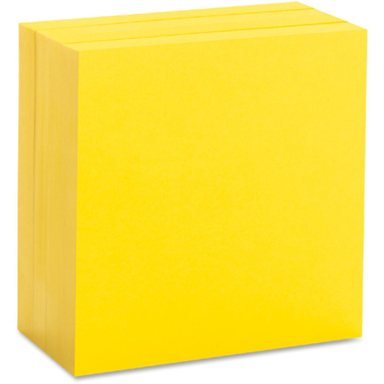 Size of a post it note