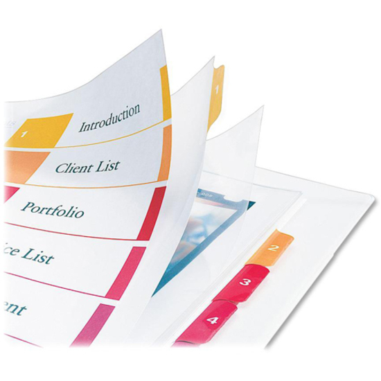 Avery Ready Index Customizable Table Of Contents Extra Wide Dividers