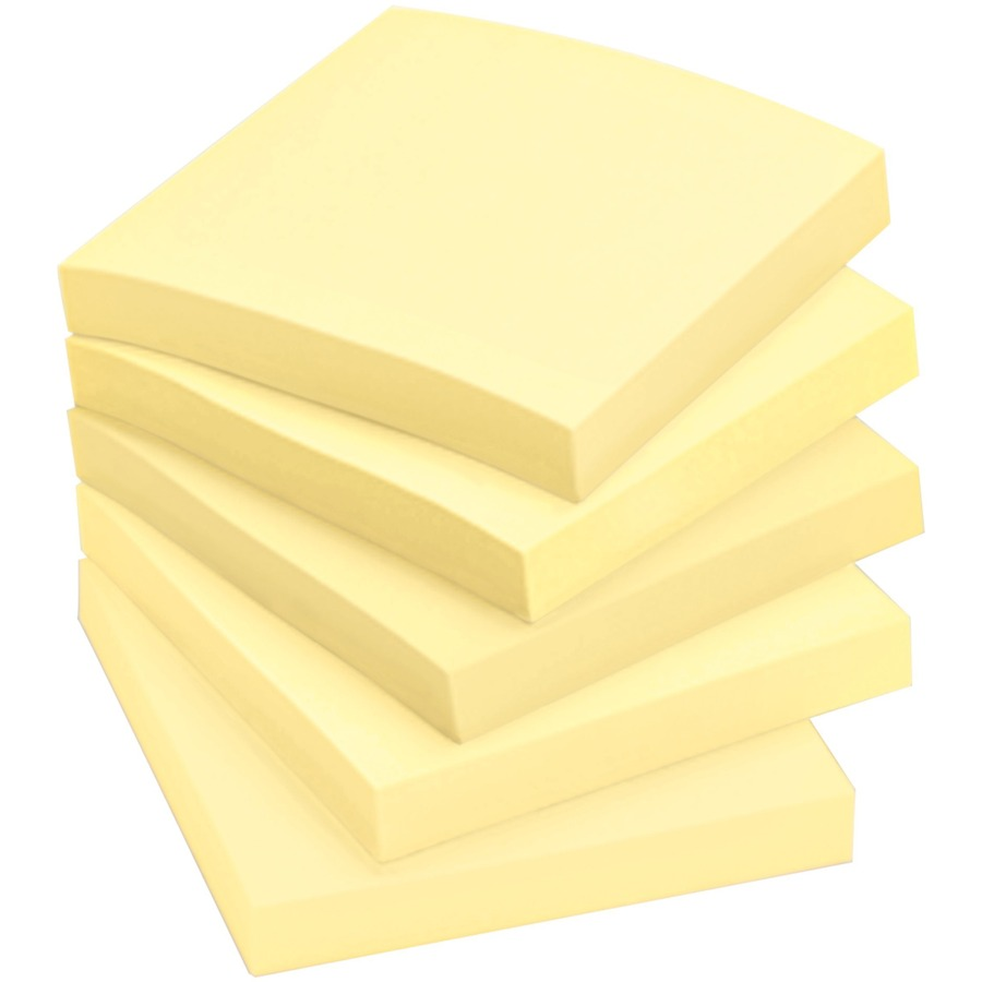Post-it Plain Canary Yellow Note