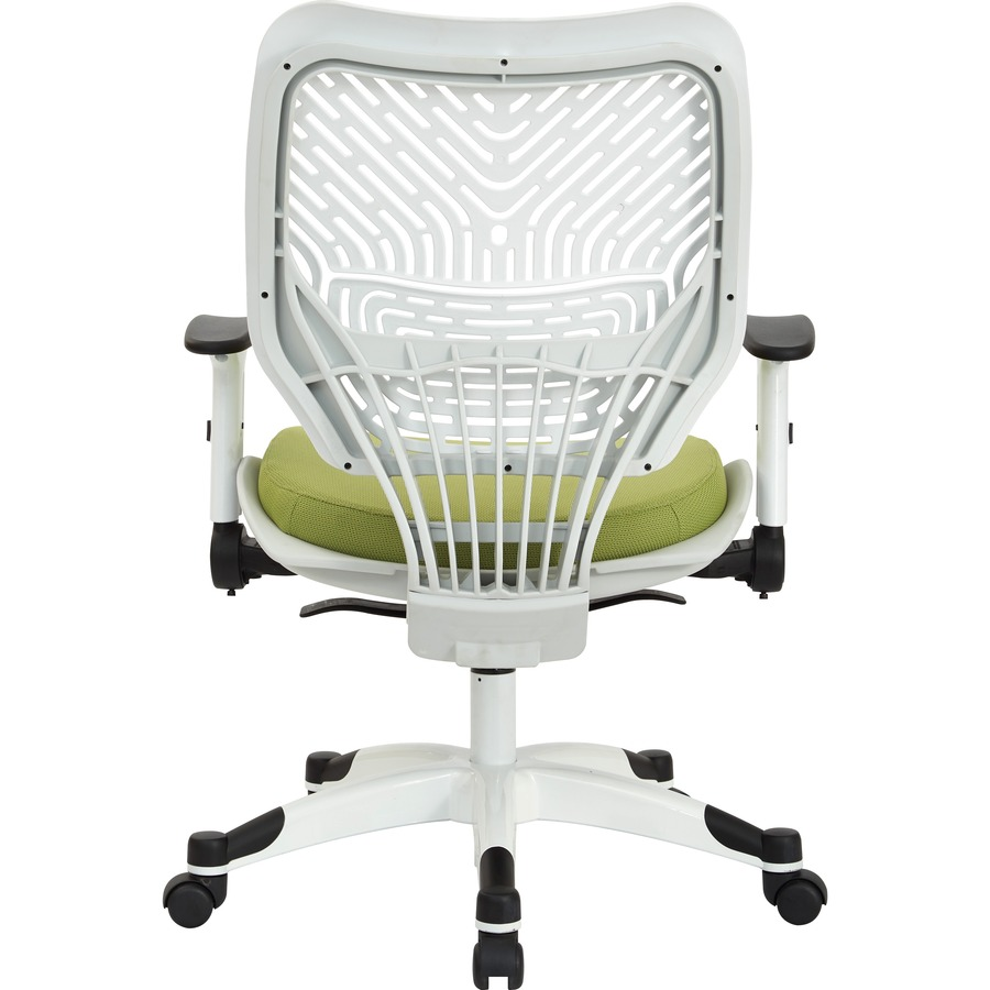 space seating white spaceflex back mesh seat