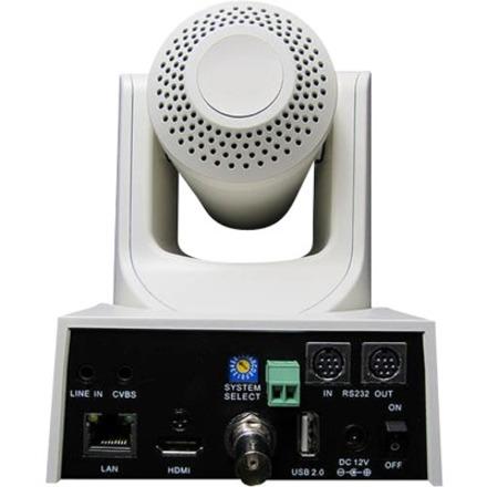 PTZOptics PT12X-SDI-WH-G2 Video Conferencing Camera - 2.1 Megapixel - 60 fps - White - USB 2.0_subImage_4