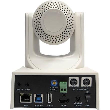 PTZOptics PT12X-USB-WH-G2 Video Conferencing Camera - 2.1 Megapixel - 60 fps - White - USB 3.0_subImage_3