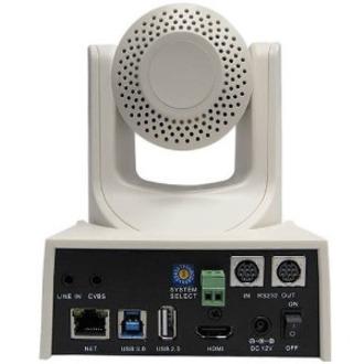 PTZOptics PT20X-USB-WH-G2 Video Conferencing Camera - 2.1 Megapixel - 60 fps - White - USB 3.0_subImage_3