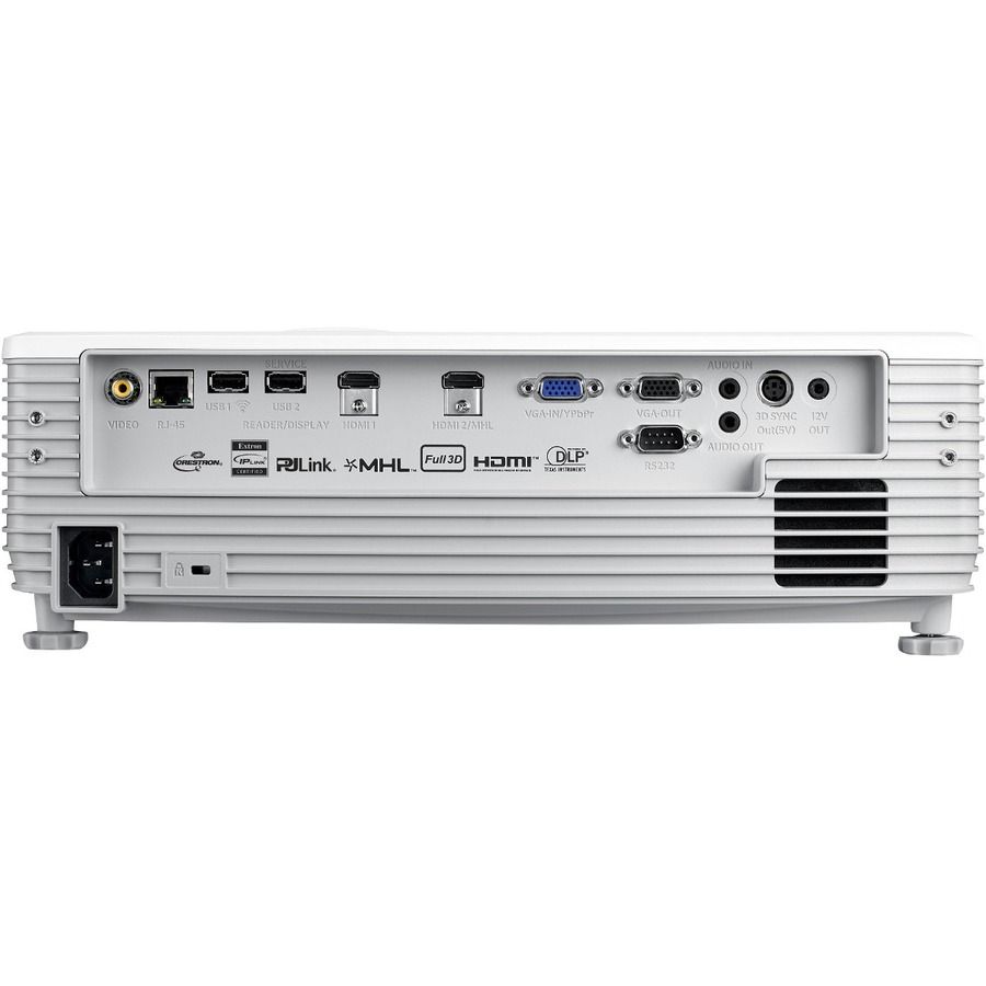 Optoma EH512 3D DLP Projector - 16:9 - White_subImage_4