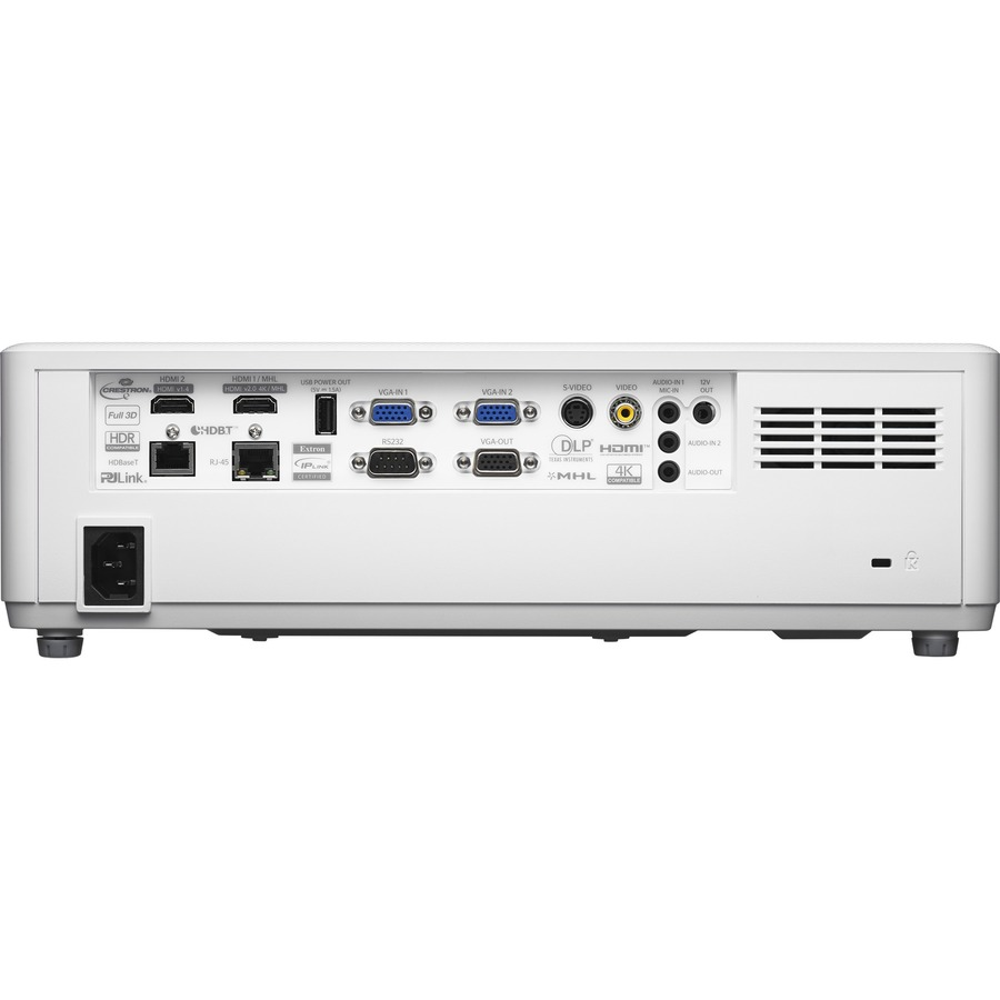 Optoma ProScene ZU606TST-W 3D Ready Short Throw DLP Projector - 16:10 - White_subImage_4
