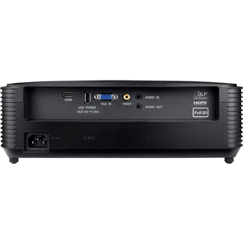 Optoma S334e 3D Ready DLP Projector - 4:3 - Black_subImage_3