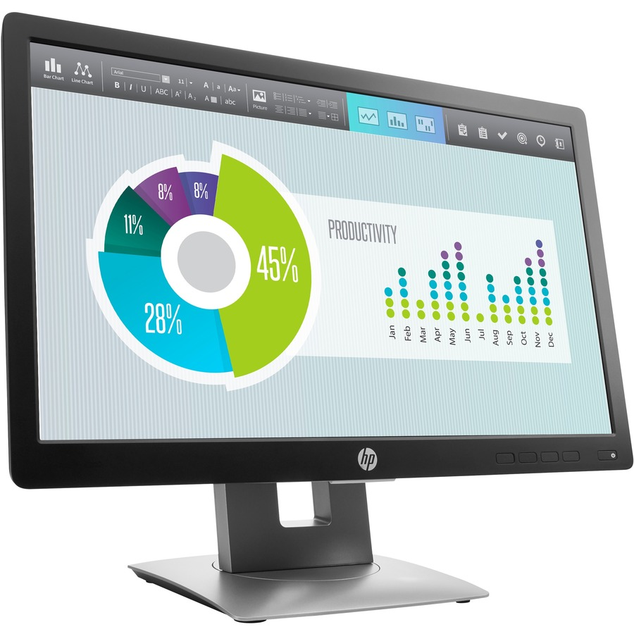 """HP Business E202 20"""" HD+ LED LCD Monitor - 16:9_subImage_4"""