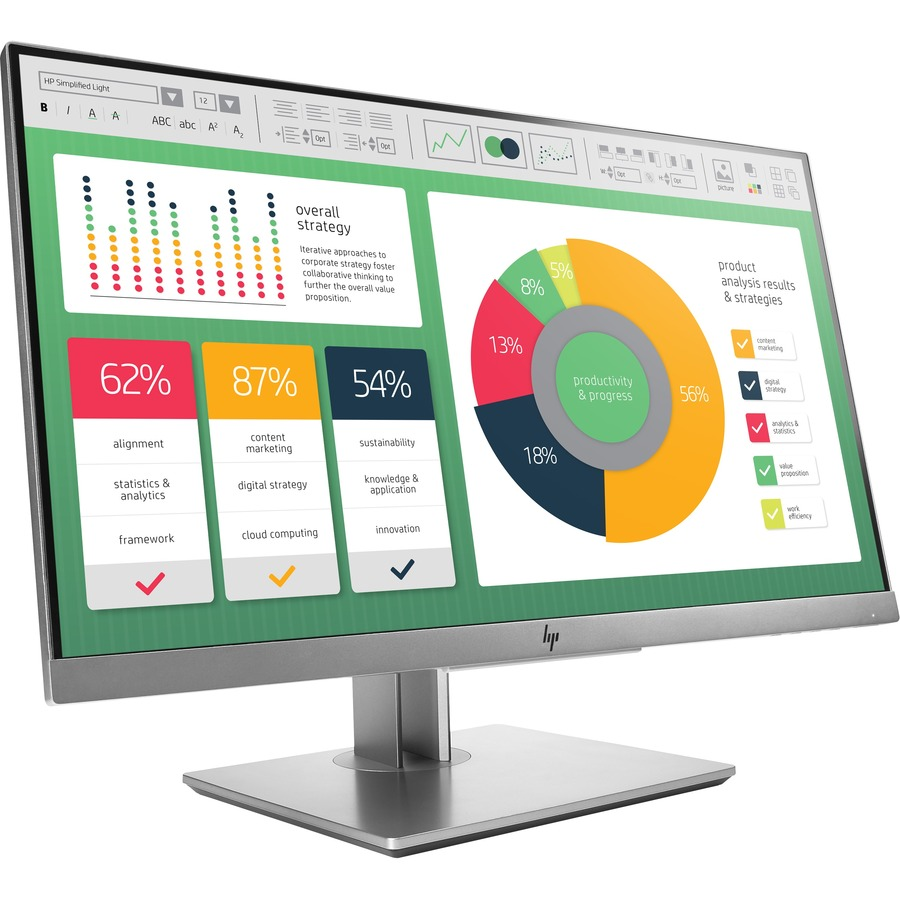"HP Business E223 21.5"" Full HD LED LCD Monitor - 16:9_subImage_5"