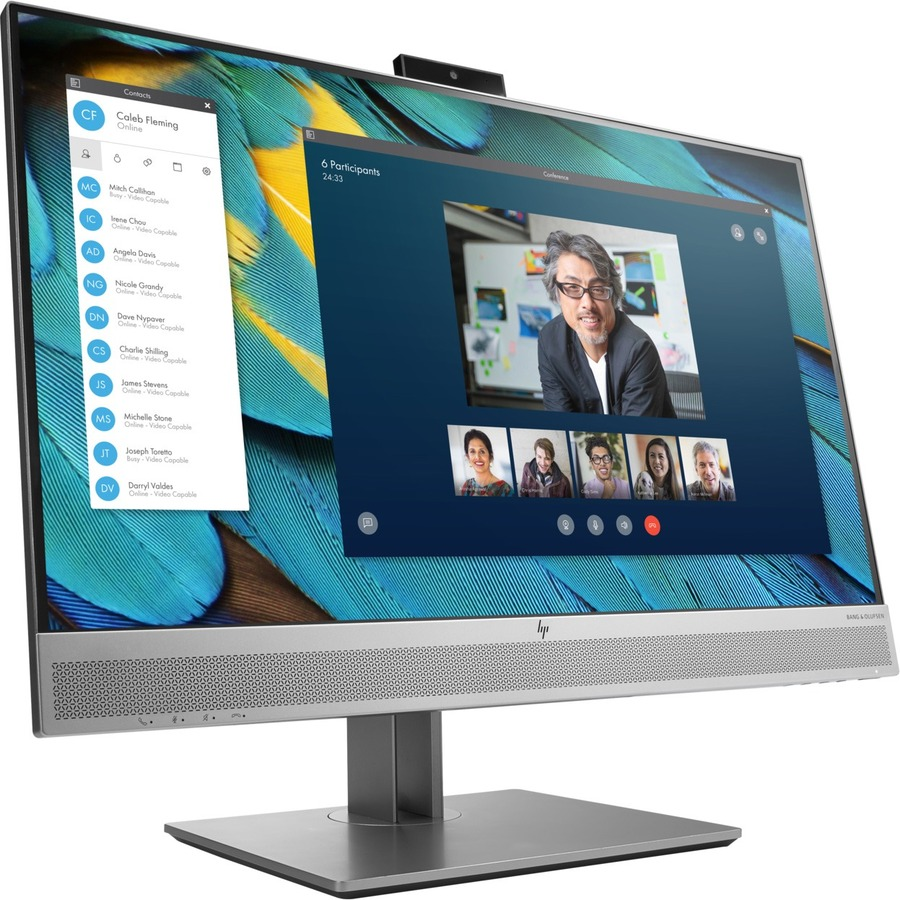 """HP Business E243m 23.8"""" Full HD WLED LCD Monitor - 16:9 - Black, Silver_subImage_5"""