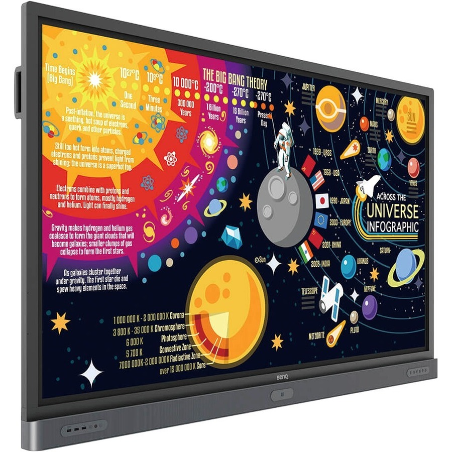 "BenQ Education RP7501K 75"" LCD Touchscreen Monitor - 16:9 - 8 ms_subImage_5"
