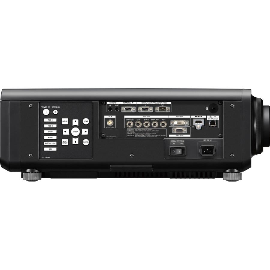 Panasonic SOLID SHINE PT-RZ770 DLP Projector - 16:10 - Black_subImage_4