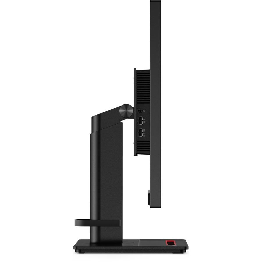 "Lenovo ThinkVision P27h-20 27"" WQHD WLED LCD Monitor - 16:9 - Raven Black_subImage_5"